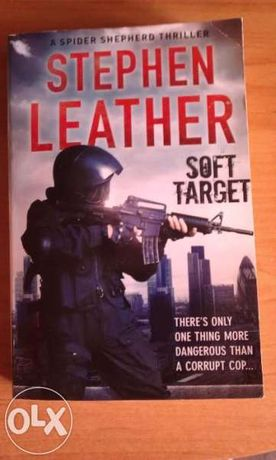 "Bestseller ""Soft Target"" by Stephen Leather (трилър), Best Books 2015"