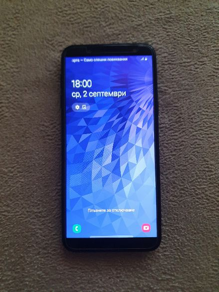 Samsung Galaxy J6 (2018) Dual 32GB, черен цвят