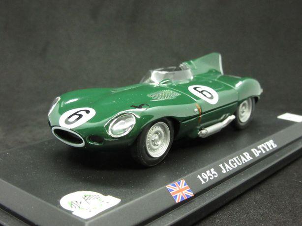 Macheta Jaguar D-Type 1955 DelPrado 1:43