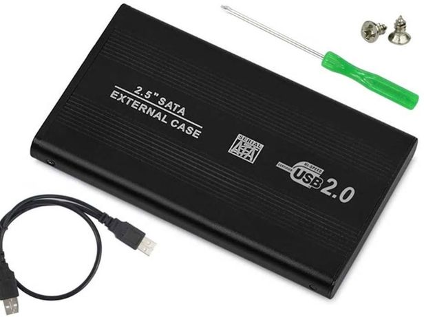 2 * Carcasa/rack HDD extern 2.5'' USB SATA Oferta 1+1!