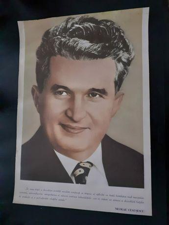 Afis Ceausescu