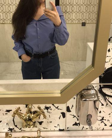 Продам рубашку с открытыми плечами