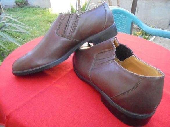Мъжки кожени обувки