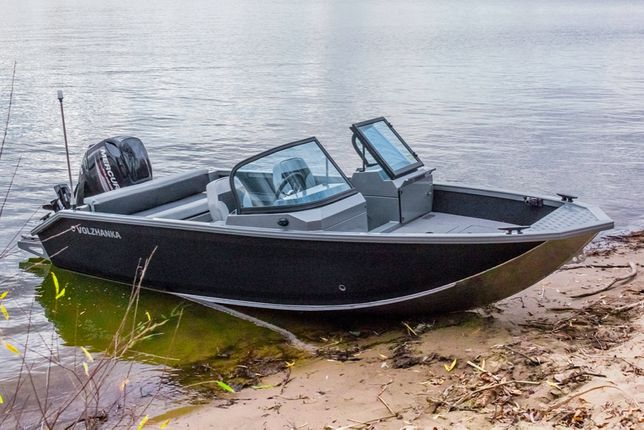 Barca VBoats Volzhanka 46 Fish (NOUA - FARA MOTOR & OPTIUNI)