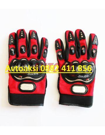 Мото ръкавици PRO-BIKER Червени