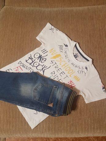 Продаю джинсы + футболка