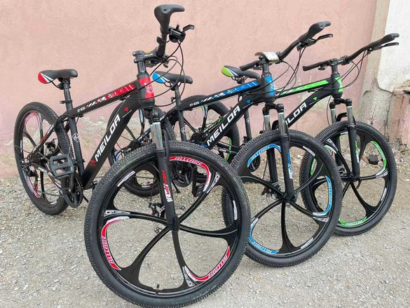 Велосипед стоманена рамка, лята капла 26