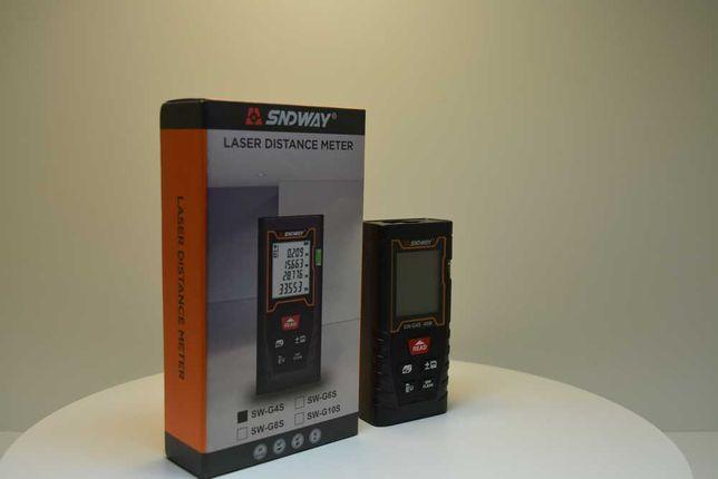 Telemetru / ruleta laser 40M (precizie+-2mm), lentile Germania SNDWAY