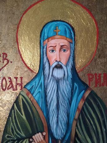 Икона Свети Иван Рилски Чудотворец