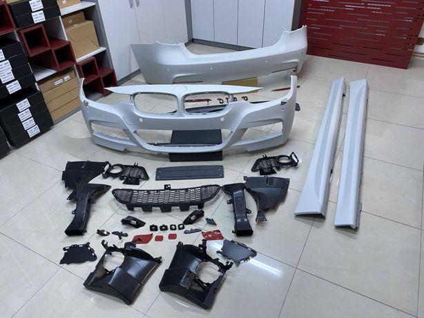 Pachet Exterior compatibil cu BMW F30 2011-up M-Technik Design