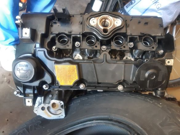 картер маслена помпа цилиндров блок BMW 118i бензин 2.0 143 к.с. 2007