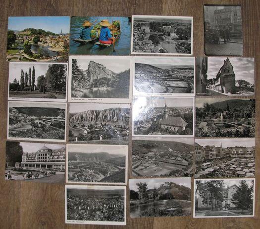 Lot FDC, carti postale, scrisori - 36 buc (timbre) - 3 fotografii