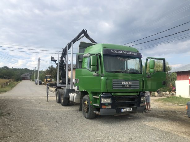 Camion MAN forestier