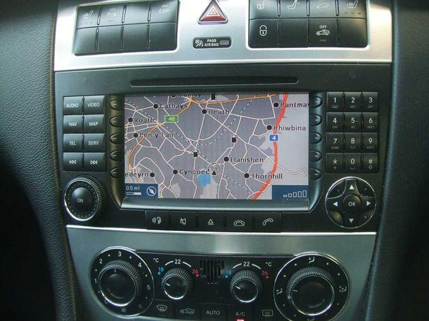 MERCEDES DVD harti navigatie Mercedes A B C CLK CLC G GL Vito Romania