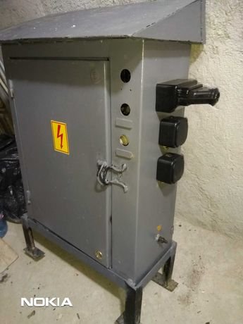 Електрическо табло за временно захранване с Ел. Енергия.