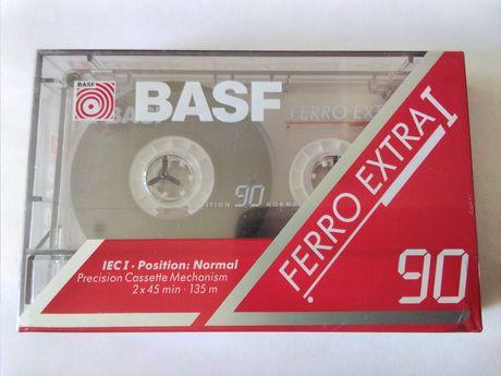 BASF Ferro Extra 1  90 Кассета магнитофонная Аудиокассета запечатанная