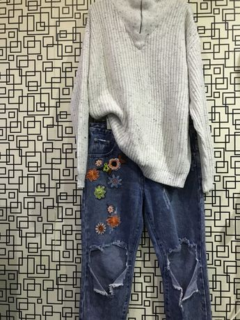 Jeans/Pulover