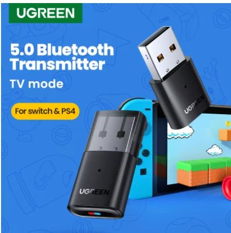 USB Bluetooth 5.0 Ugreen для передачи звука с PS4, Android, компьютер