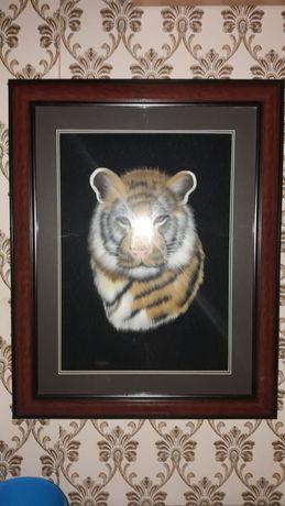 Продам новую картину тигр