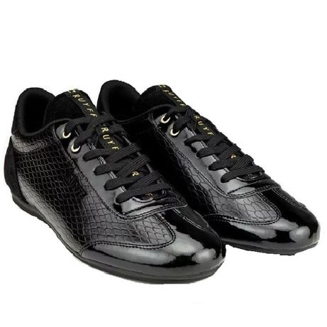 Cruyff Recopa Emblema Croco Black Patent Leather