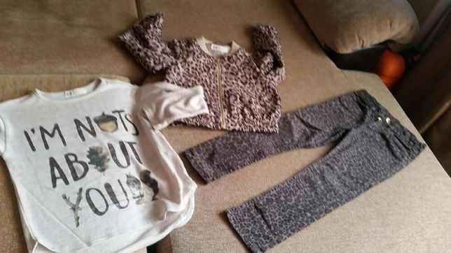 Set H&M Animal Print 3-5 ani