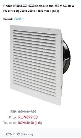 Ventilator filtrant pentru dulapuri si tablouri electrice