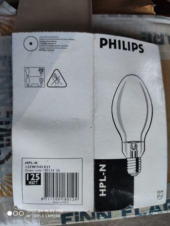 Лампа PH HPL-N 125W/542 ртут. E27