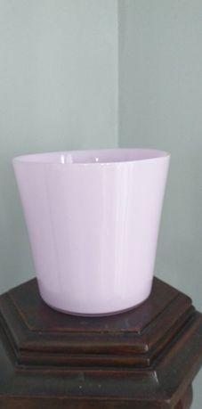 Vaza vintage din sticlã groasã