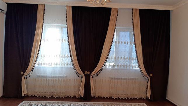 Продается красивые,велюровые шторы