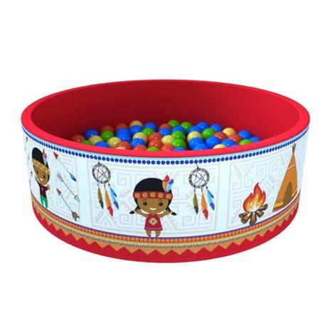 Сухой бассейн «Индейцы» + 200 шариков