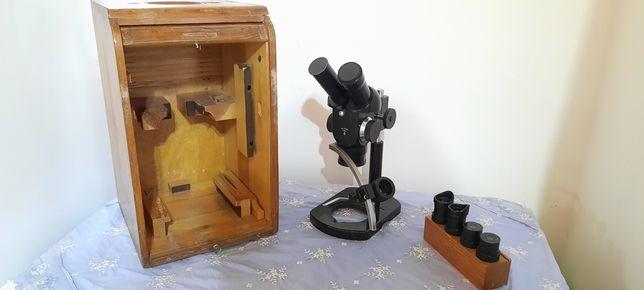Microscop binocular carl zeiss jena