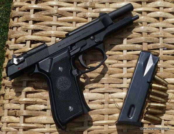 Pistol Tip AIRSOFT Neletal 4,6j 215m/s METAL Co2 Bile Cutie transport