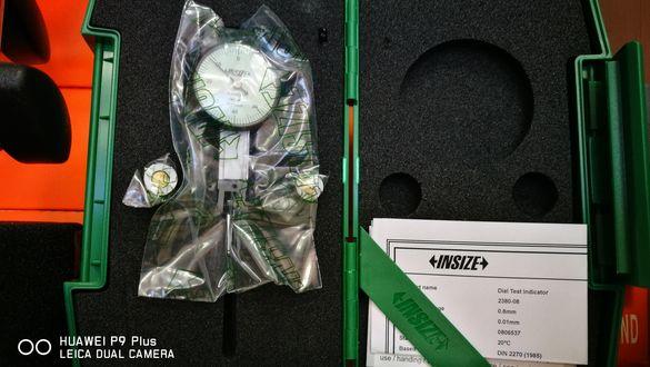 Мини индикаторен часовник с чупещо краче INSIZE