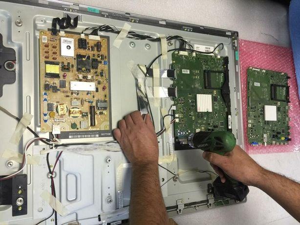 Ремонт телевизора блока питания подсветки телемастер на выезд Elenberg