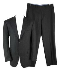 Costum Barbati Marks & Spencer marimea 52 Gri Lana Casmir Office QQ79