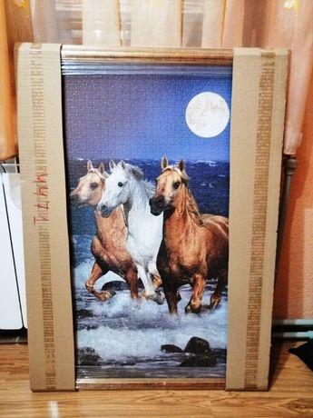 Картина от пъзел в рамка