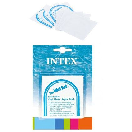 Лепенки за басейни надуваеми лодки дюшеци матраци интекс intex 6 броя