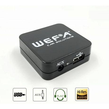 Дигитален CD чейджър Wefa за автомобили Subaru USB,Aux in - mp3 flac f