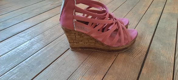 Дамски обувки, цвят розов
