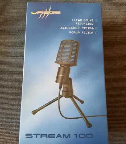 нов микрофон Hama uRage Stream 100 USB за компютър ASUS Macbook Dell