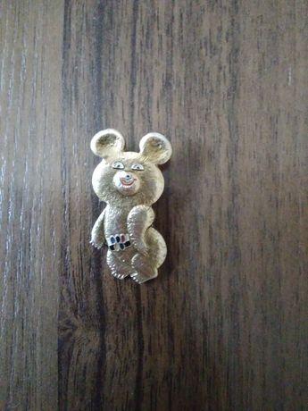 Продам значок олимпийского мишку