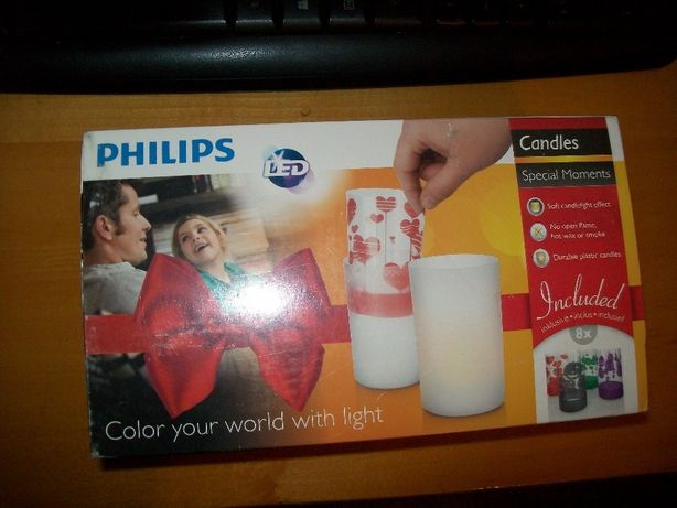 Philips Candles Special Moments: Color your world with light