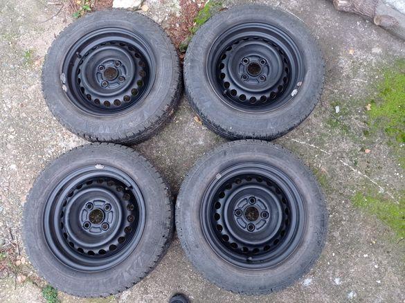"""Железни джанти със зимни гуми 4х100 14"""" за Хонда"""