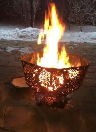 Костровая  чаша для разведения огня