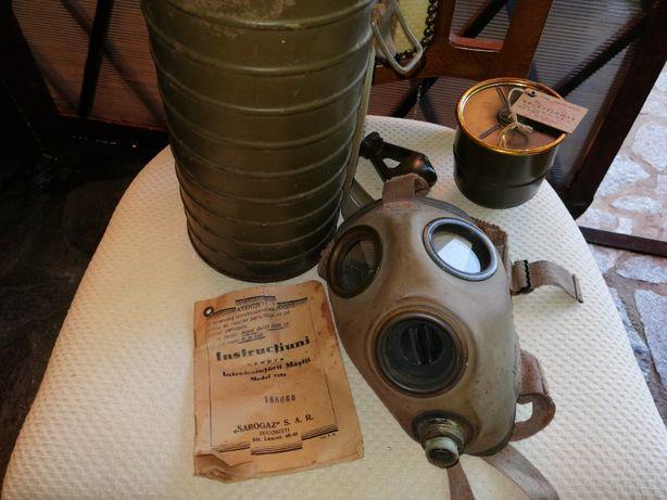 Masca de gaze interbelica Sarogaz Md. 1935 full box
