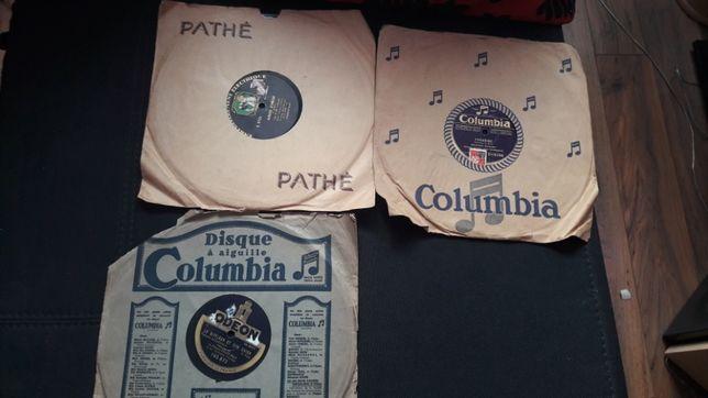 Discuri/Placi de Gramofon Columbia Pathe Odeon
