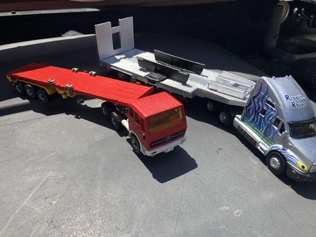 Transportor metalic Siku Mercedes
