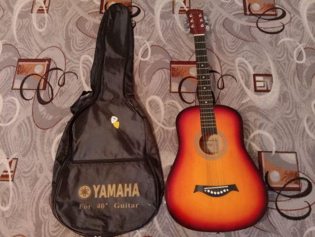 Гитара + новый чехол