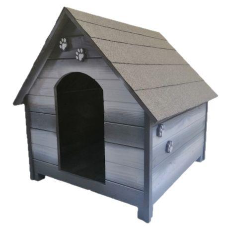 Къща за куче - Сива,размер ХЛ - Къщи за кучета ,Колиби за кученца