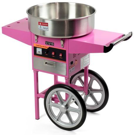 Професионална машина за захарен  памук на газ и ток